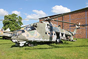 Angriffs-Hubschrauber Mil Mi-24D 'Hind' von 1975