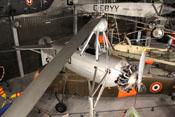 Blick in die Hubschrauberhalle des Museums