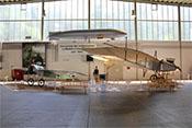 Ausstellungsbereich zur Luftfahrt im Kaiserreich von 1884 - 1914