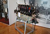 6-Zylinder-Reihenflugmotor BMW III a mit 240 PS von 1917