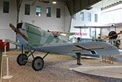 Junkers D-I von 1918, das erste Ganzmetall-Jagdflugzeug der Welt