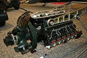 12-Zylinder-Reihenmotor Junkers Jumo 211 B/D mit 35 Litern Hubraum