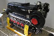 12-Zylinder-Reihenflugmotor Daimler-Benz DB 605A mit 35,7 Litern Hubraum