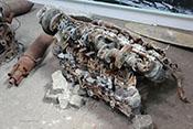 12-Zylinder-Reihenmotor