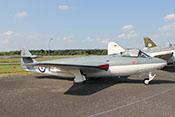 Jagdflugzeug und Jagdbomber Hawker (Armstrong Whitworth) Sea Hawk Mk.4 der britischen Royal Navy