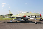 "Aufklärungsflugzeug Republic RF-84F ""Thunderflash"" EB-344"