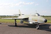 """RAF-Jagdflugzeug Hawker Hunter F.Mk.6A """"XG 152"""" von 1965"""