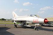 Abfangjagdflugzeug Mikojan-Gurewitsch MiG-21 F13 (NATO-COde: Fishbed C) der NVA