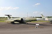 """Allwetterjagdflugzeug, Aufklärer und Jagdbomber Lockheed F-104G """"Starfighter"""" 26+49 von 1971"""