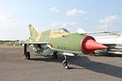 """Jagdflugzeug Mikojan-Gurewitsch MiG-21 M """"596"""" (NATO-Code: Fishbed G) der NVA (Werknummer: 0708)"""