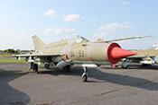 """Abfangjagdflugzeug Mikojan-Gurewitsch MiG-21 bis """"990"""" (NATO-Code: Fishbed L) 24+53"""
