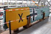 Flügelpaar der Fieseler Fi-156 'Storch' KR+QZ