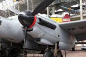 Triebwerksverkleidung der De Havilland Mosquito Mk 30