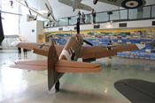 Heckansicht der Messerschmitt Bf 109 G-2 Trop (WNr. 10639)