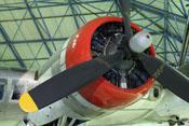 Wright R-1820 Cyclone-Triebwerk der Boeing B-17G (Startleistung: 1.350 PS)