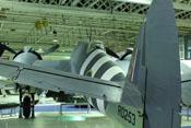 Heckansicht der Bristol Beaufighter TF Mk.X (RD253)