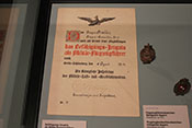 Befähigung-Zeugnis für Militär-Flugzeugführer von 1914