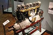6-Zylinder-Reihenmotor Daimler D II mit 140 PS aus dem Jahr 1916