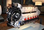 12-Zylinder-V-Motor Junkers Jumo 213 A1 mit 1750 PS von 1944
