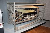 12-Zylinder-V-Motor Renault 12 S von 1946 - Nachbau des Argus As 411 TA-1 mit 600 PS
