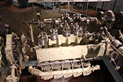 12-Zylindermotor Renault 12 S - Lizenzbau des Argus As 411 von 1946