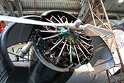 Spanischer 9-Zylinder-Sternmotor Elizalde Beta für die Ju_52