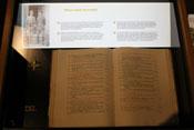 Buch mit Namenslisten der Eton-Schüler, die im 1. Weltkrieg kämpften