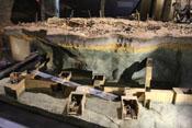 Modell der unterirdischen Anlagen